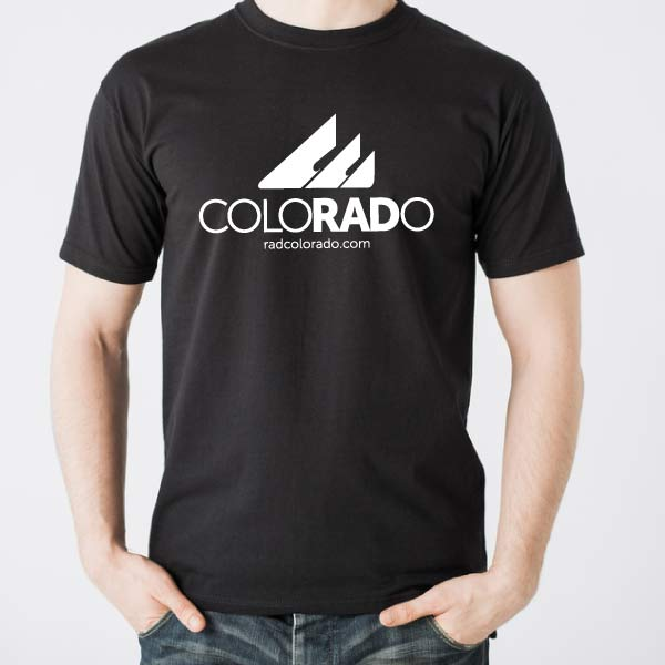 Mens Black RadColorado T-Shirt